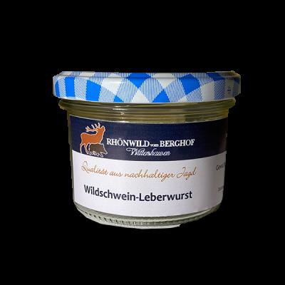 Wildschwein-Leberwurst im Glas 200g